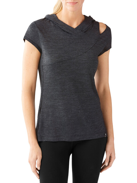 Smartwool Everyday Exploration Hooded Tee Women Charcoal
